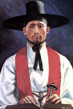 Sts. Andrew Kim Taegon, Paul Chong Hasang, and Companions